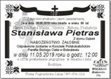 Pietras Stanisława