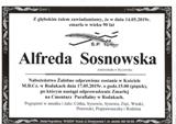 Sosnowska Alfreda