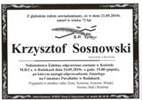 Sosnowski Krzysztof