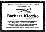 Barbara Kleczko