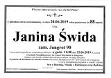 Janina Świda