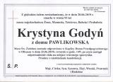 Krystyna Godyń