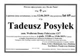 Tadeusz Posyłek