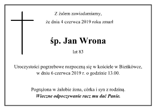 Wrona Jan