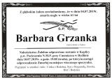 Barbara Grzanka