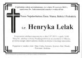 Henryka Lelak