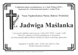 Jadwiga Maślanka