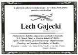 Lech Gajecki