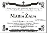 Maria Żaba