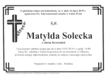 Matylda Solecka
