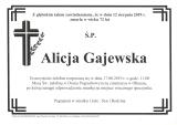 Alicja Gajewska