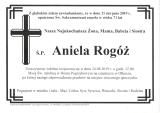 Aniela Rogóż