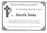 Józefa Sioła