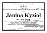 Janina Kyzioł