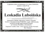 Leokadia Luboińska