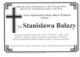 Stanisława Bałazy