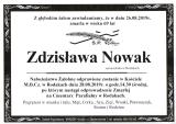Zdzisława Nowak