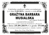 Grażyna Musialska