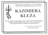 Kazimiera Kluza