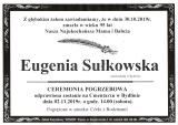 Eugenia Sułkowska