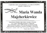 Maria Majcherkiewicz