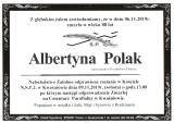 Albertyna Polak