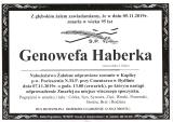 Genowefa Haberka