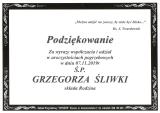 śp. Grzegorz Śliwka