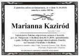 Marianna Kaziród