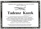 Tadeusz Kazek