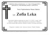 Zofia Leka