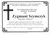 Zygmunt Szymczyk
