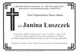 Janina Łuszczek