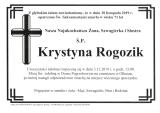 Krystyna Rogozik