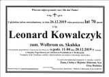 Leonard Kowalczyk