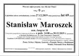 Stanisław Maroszek