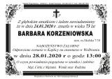 Barbara Korzeniowska