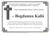 Bogdanna Kaliś
