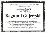 Bogumił Gajewski