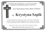 Krystyna Szpik