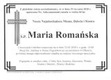 Maria Romańska