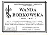 Wanda Borkowska