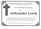 Aleksander Lewik