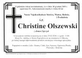 Christine Olszewski