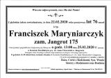 Franciszek Maryniarczyk
