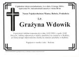 Grażyna Wdowik