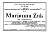 Marianna Żak