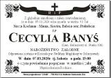 Cecylia Banyś