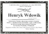 Henryk Wdowik
