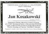 Jan Kosakowski